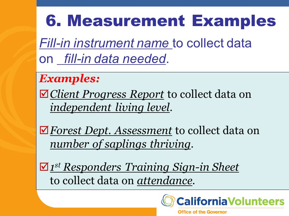 Ca Performance Measurement Worksheet Pmw  Ppt Download