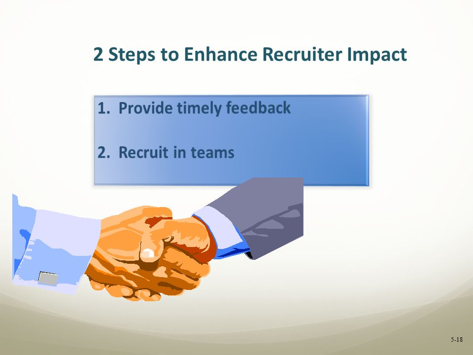 2 Steps to Enhance Recruiter Impact