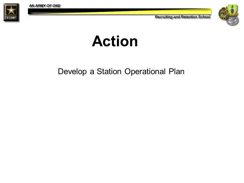 how to develop and implement operational plans