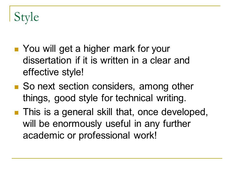 Get your dissertation written