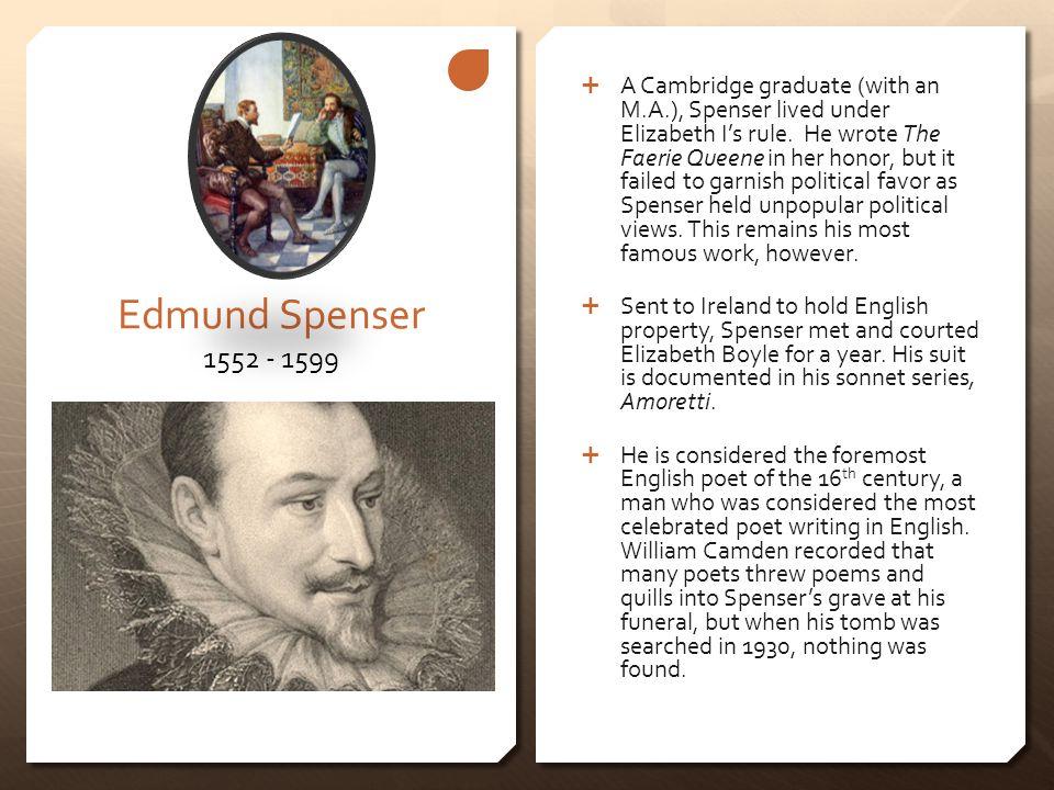 edmund spenser sonnet 26