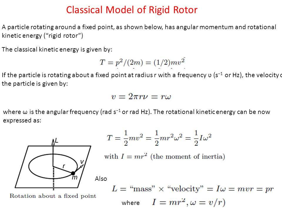 Classical Model of Rigid Rotor