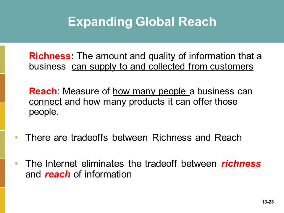 Expanding Global Reach