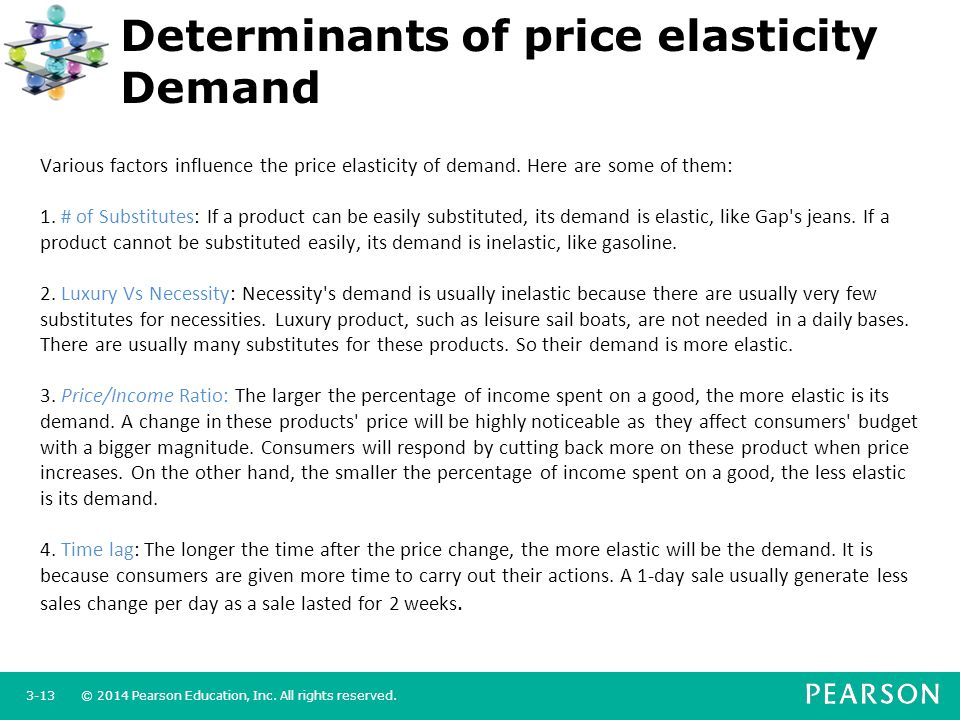 elasticity of demand supermarket sales Price elasticity of demand - ped - is a key concept and indicates the relationship between price and quantity demanded by consumers in a given time period.