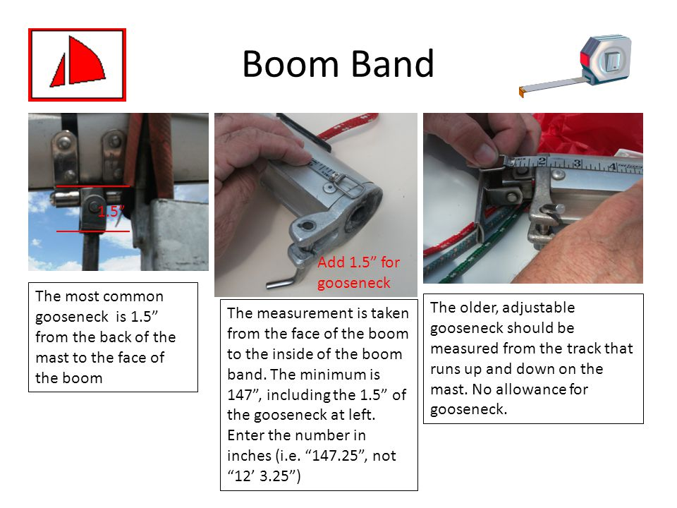 Boom Band 1.5 Add 1.5 for gooseneck