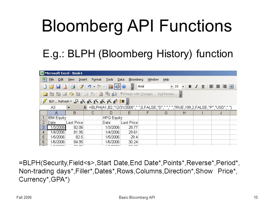 Download bloomberg api