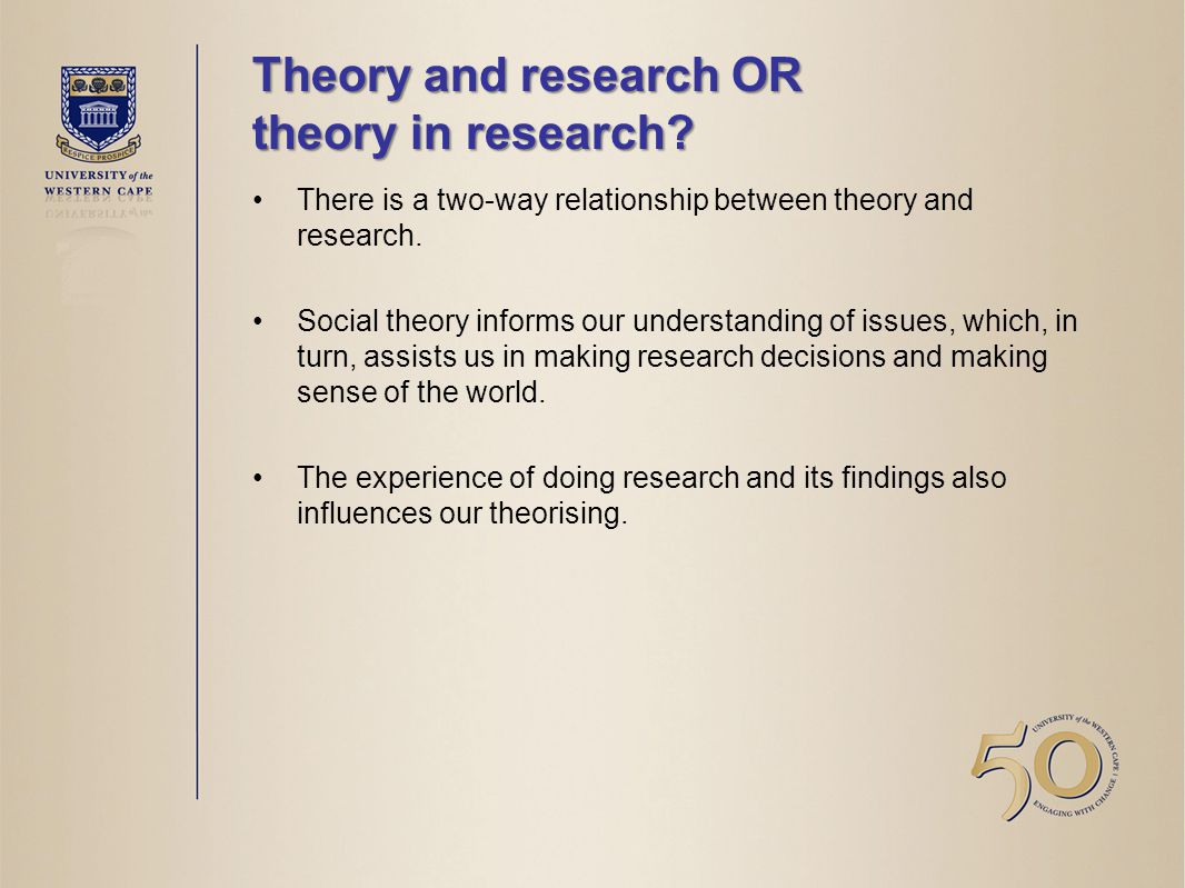 relationship between theory and research Describe the relationship between nursing research and evidence-based practice different theories in nursing and each theory highlights its position 1 (answer question, 200 words, citation and references required) re: week 4 first message #1 compare and contrast the conceptual approach of selected nursing theorists—must include jean watson.