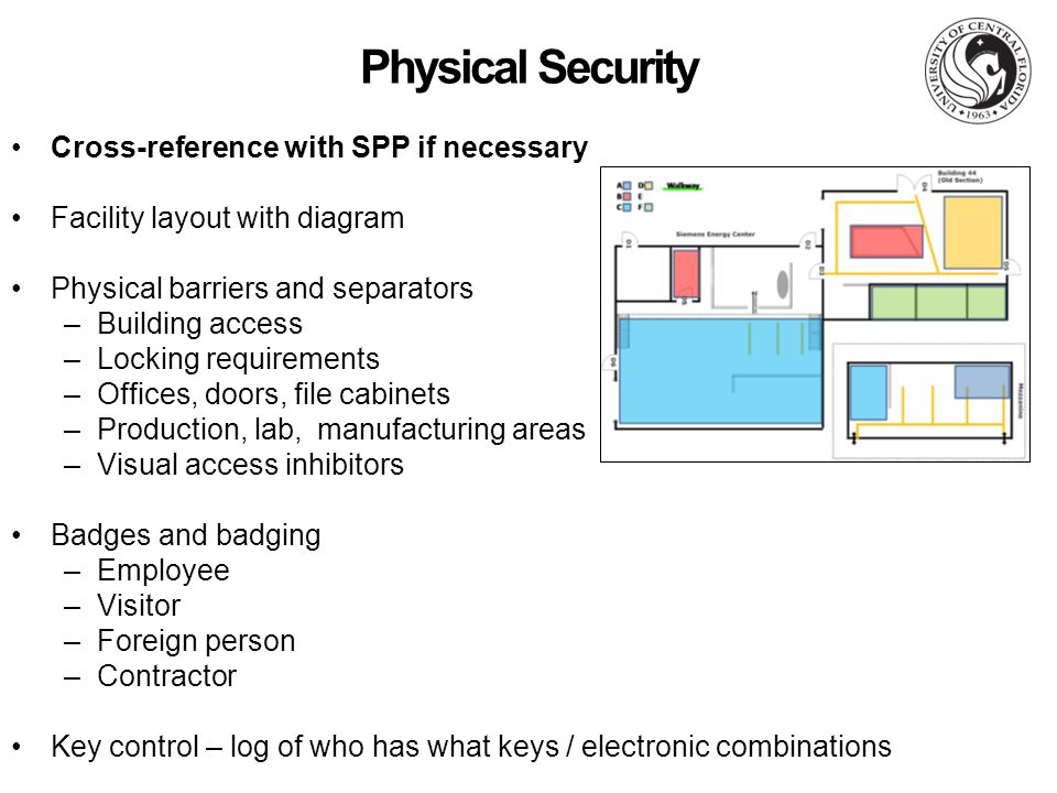 physical access control policy template - technology control plans for cleared defense contractors