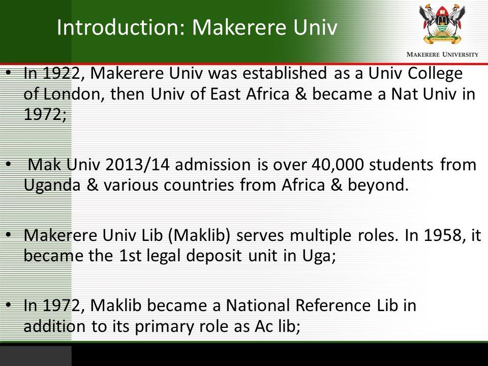 makerere university admissions