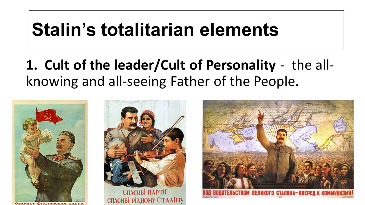 Stalin's Dictatorship and Totalitarian Rule