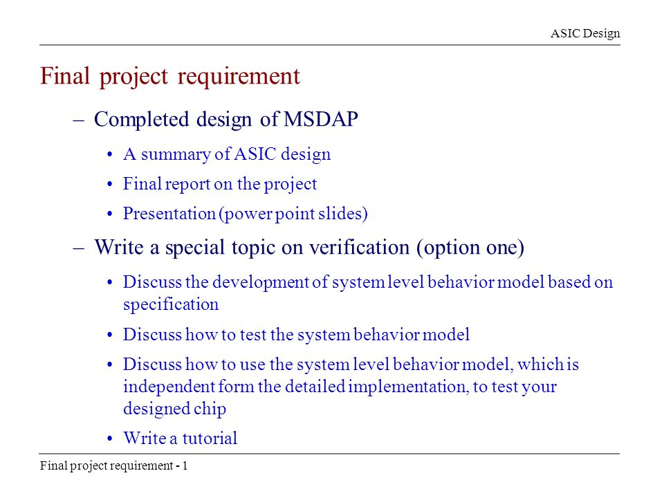 final project topic Modishprojectcom is no 1 africa's online academic projects topics and  materials website modish project is a web based company offering project  topics.