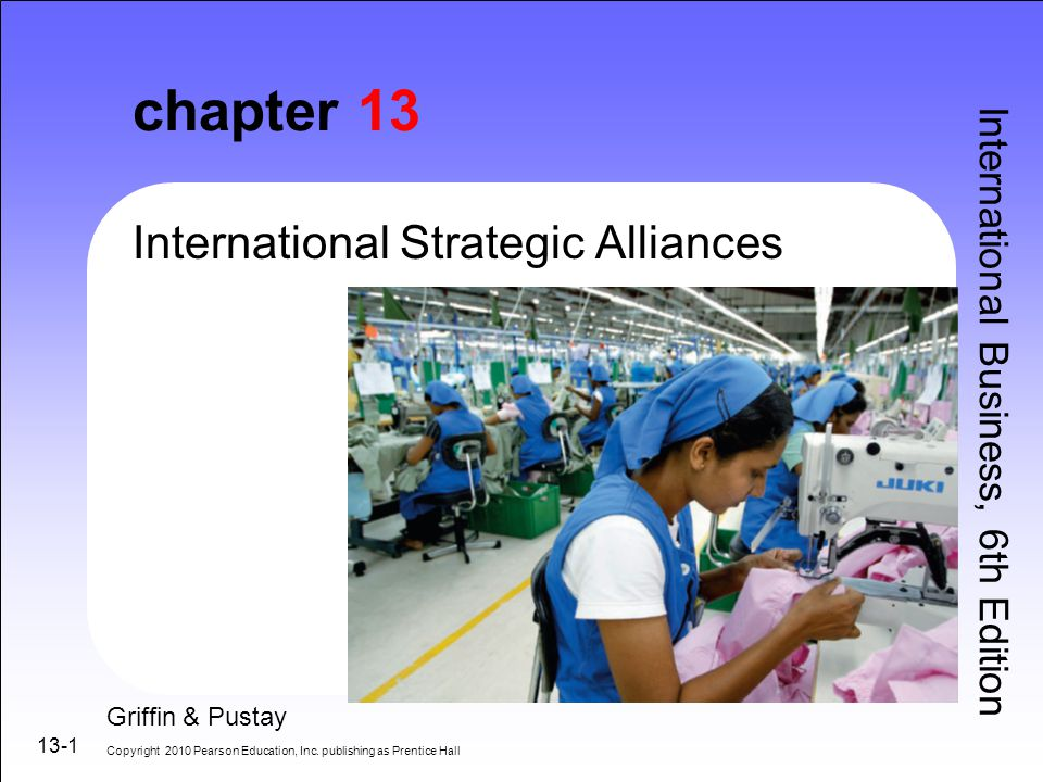 discuss the motivation for international strategic alliances Executive overview corporate growth is often viewed as being either internally generated or externally achieved through mergers and acquisitions (m&as) during the last decade, strategic alliances have become an increasingly popular third alternative to either internal or acquired growth.