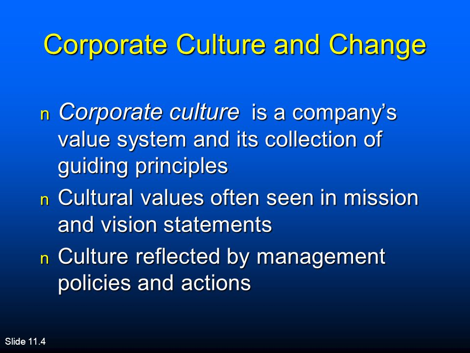 building a culture for sustaining change How to create a successful organizational culture: build it—literally / 0615 collaborate culture control culture create culture compete culture an organization that focuses on long-term internal development and team building and supports a work environment that demonstrates flexibility, concern for people, and sensitivity for customers.