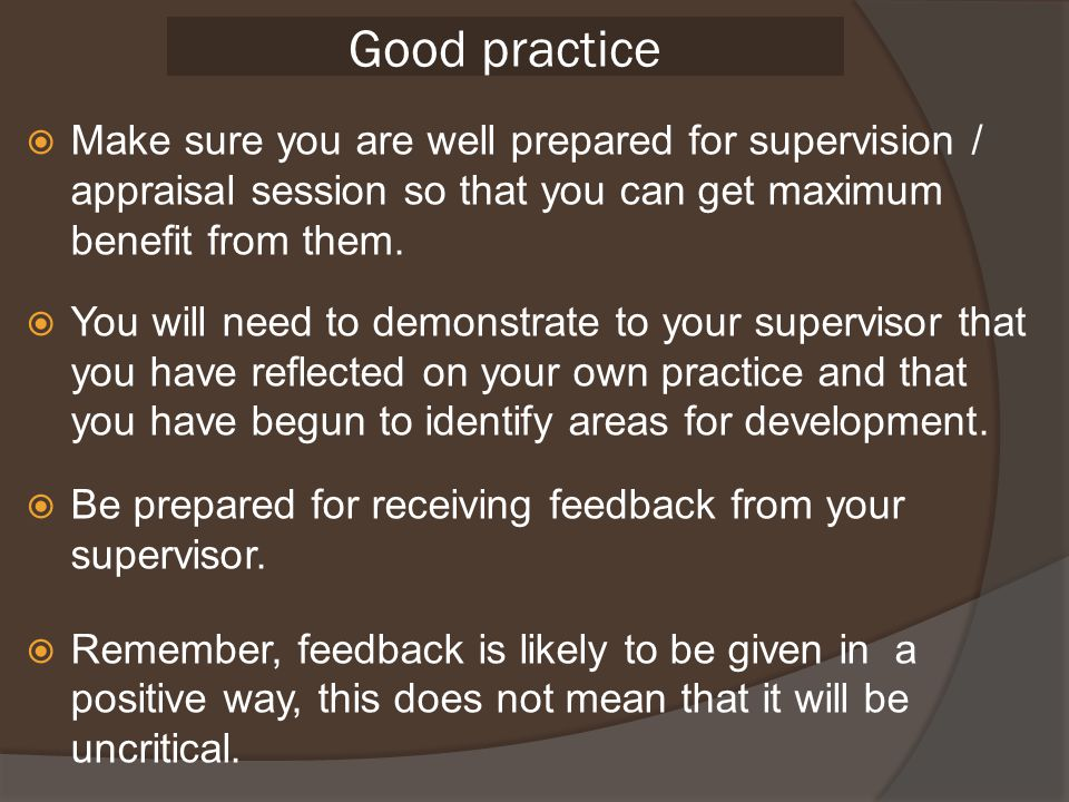 ask for constructive feedback on own practice from colleagues in schools Safeguarding the welfare of children  ask for constructive feedback on own practice from colleagues it is important to ask for constructive feedback as your.