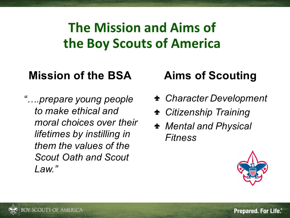 The Mission and Aims of the Boy Scouts of America