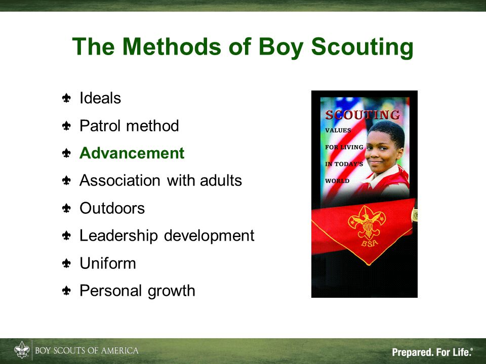 The Methods of Boy Scouting