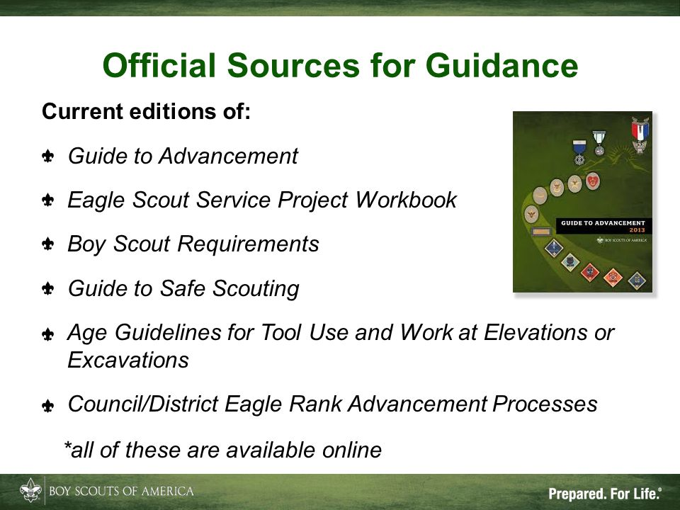 Official Sources for Guidance