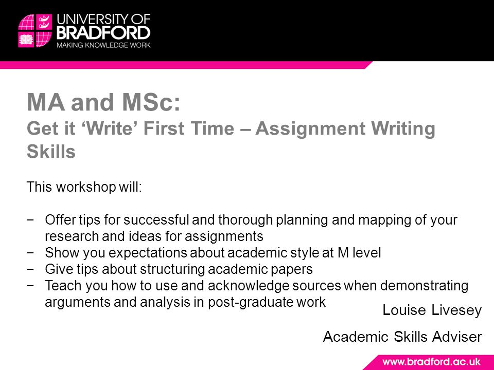 assignment writing skills Dents and really assist their essay writing skills visual guide to essay writing shows you even though academics often set essay-based assignments.
