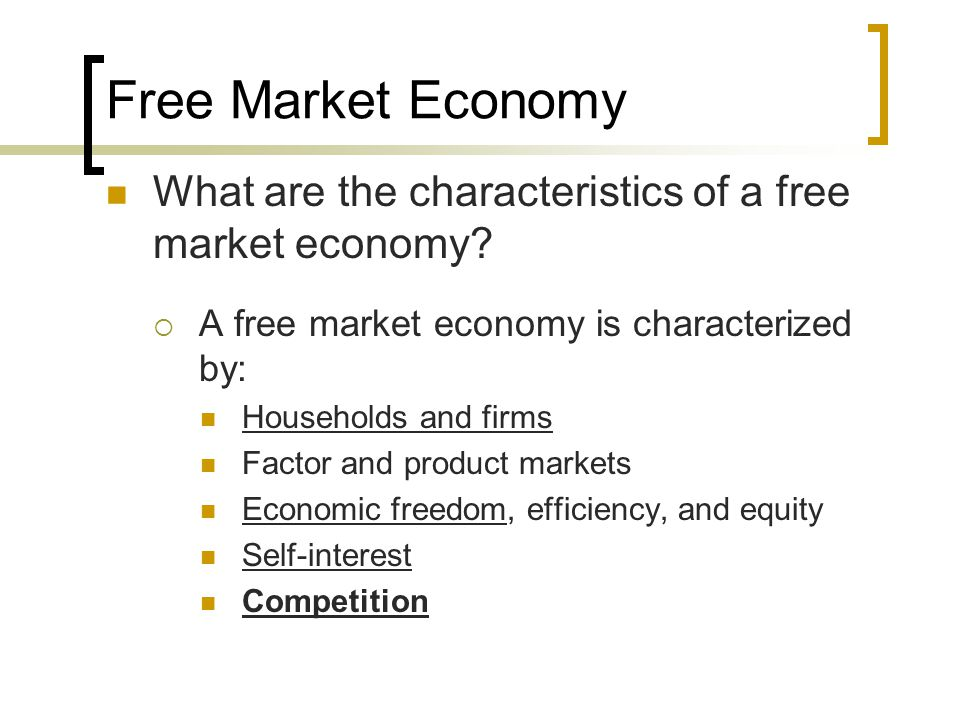 what is free market economy Forbes media chairman steve forbes and aei's arthur brooks on the benefits of  a free-market economy.