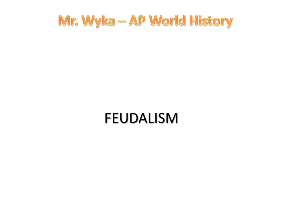 the definition and history of feudalism Feudalism a series of contractual relationships between the upper classes, designed to maintain control over land feudalism flourished between the tenth and thirteenth centuries in western europe at its core, it was an agreement between a.