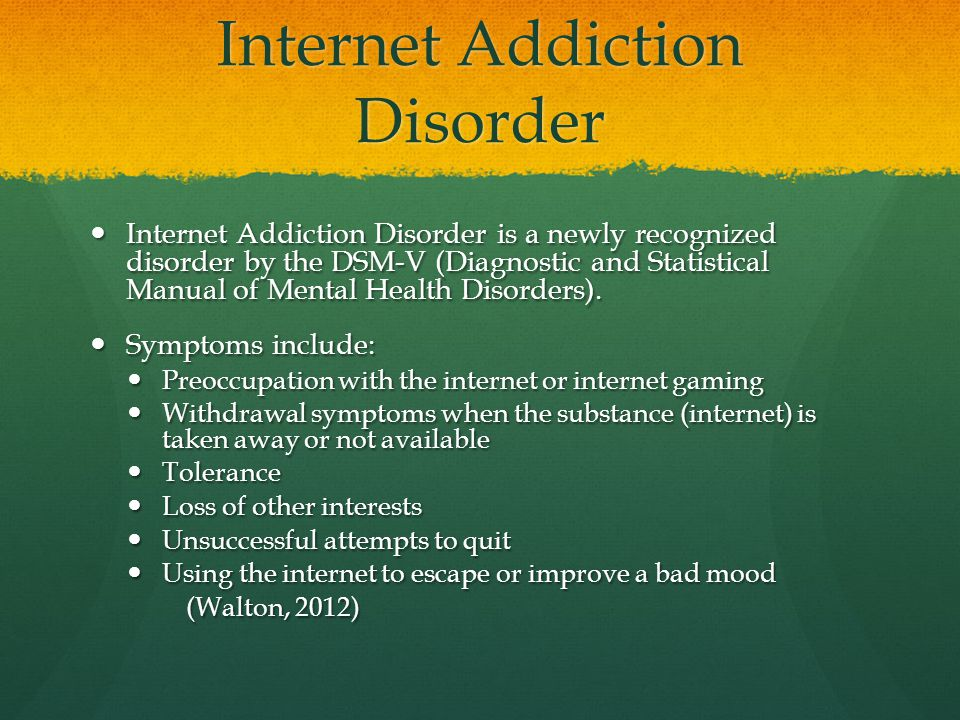 using the internet can cause addiction Be sure you are using internet  you can replace your internet addiction  play any instrument because these things don't require internet at.