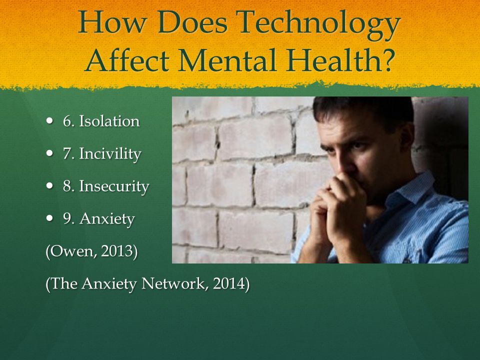 how does technology effects us Child mind institute explores issues involving children and technology, along   for kids is healthy to how social media can damage a teenager's self esteem.
