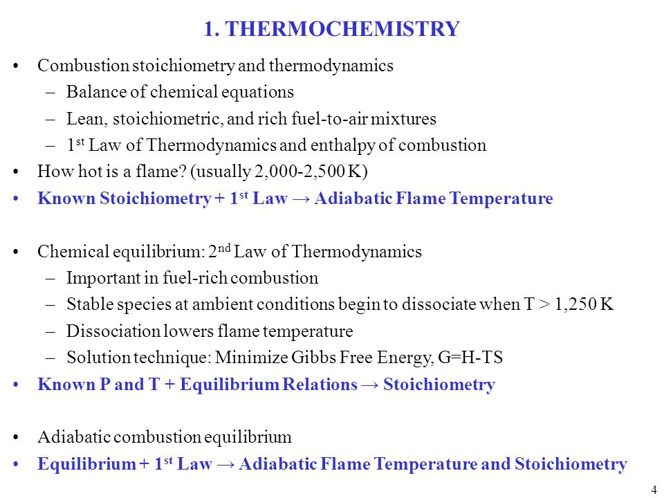 thermochemistry and thermodynamics relationship