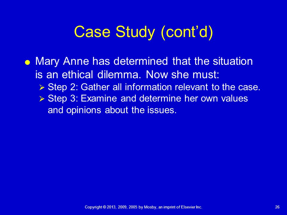 Ethical Dilemma In Child Care