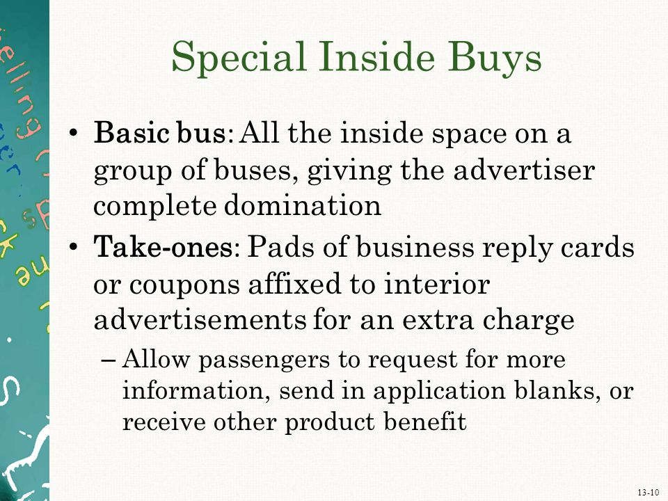 Chapter Thirteen Out-of-Home, Direct-Mail, and Promotional Products ...