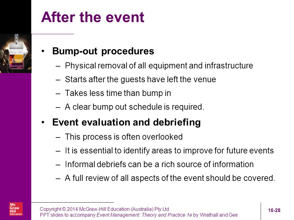 Event Staging And Venues - Ppt Download