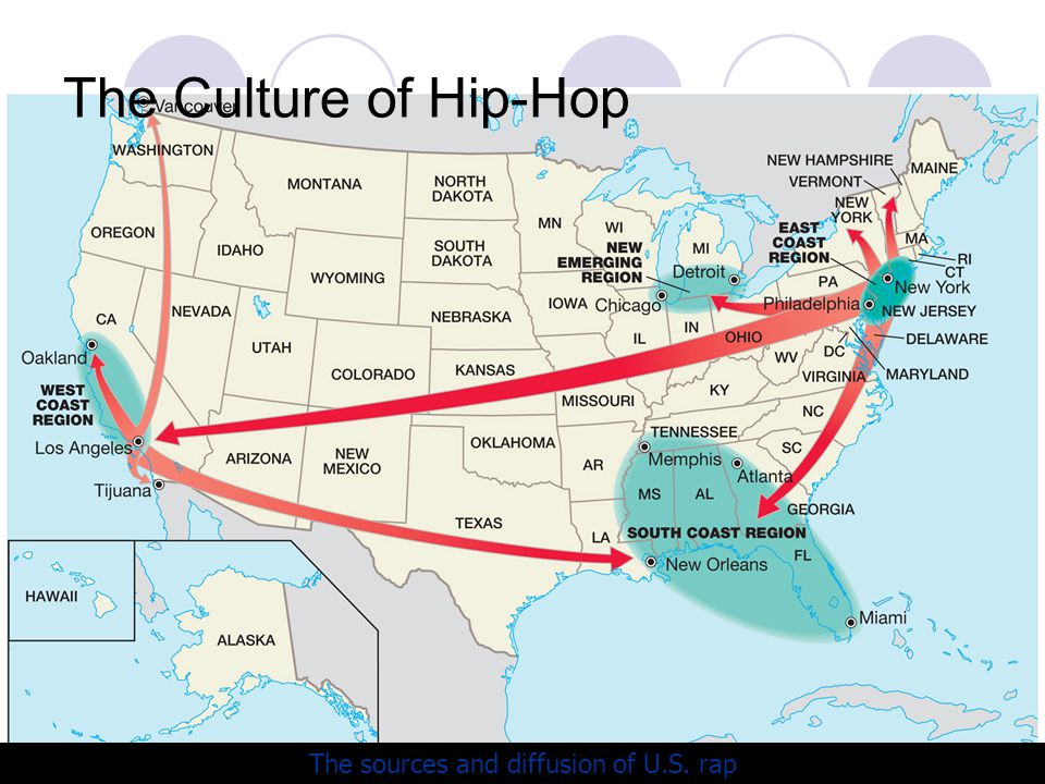 Unit Three Cultural Patterns And Processes Ppt Download - Rap of the map of the us