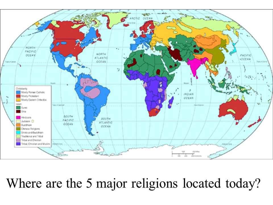 Major World Religions: Pick 3 ?s below to answer - ppt download