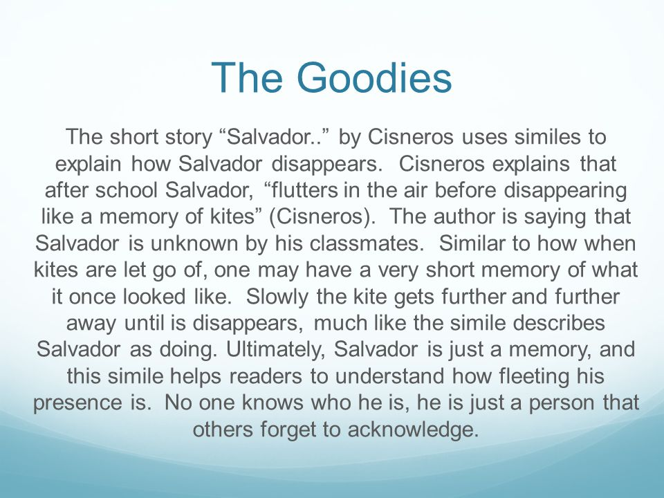 The Prompt Select One Piece Of Figurative Language Simile Metaphor