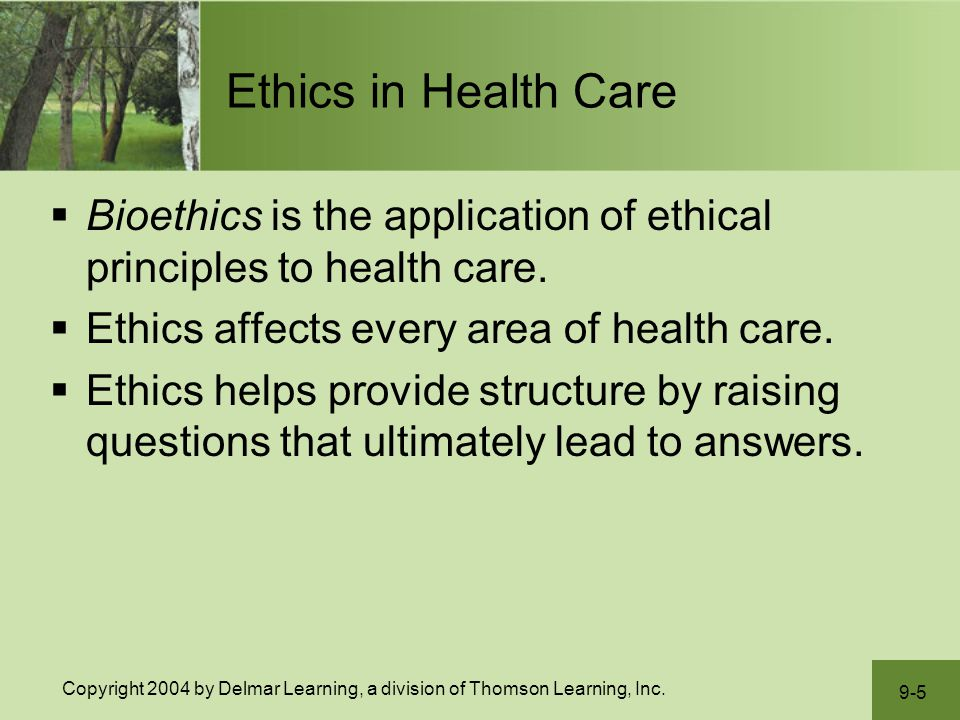 Principles of Health Care Financing