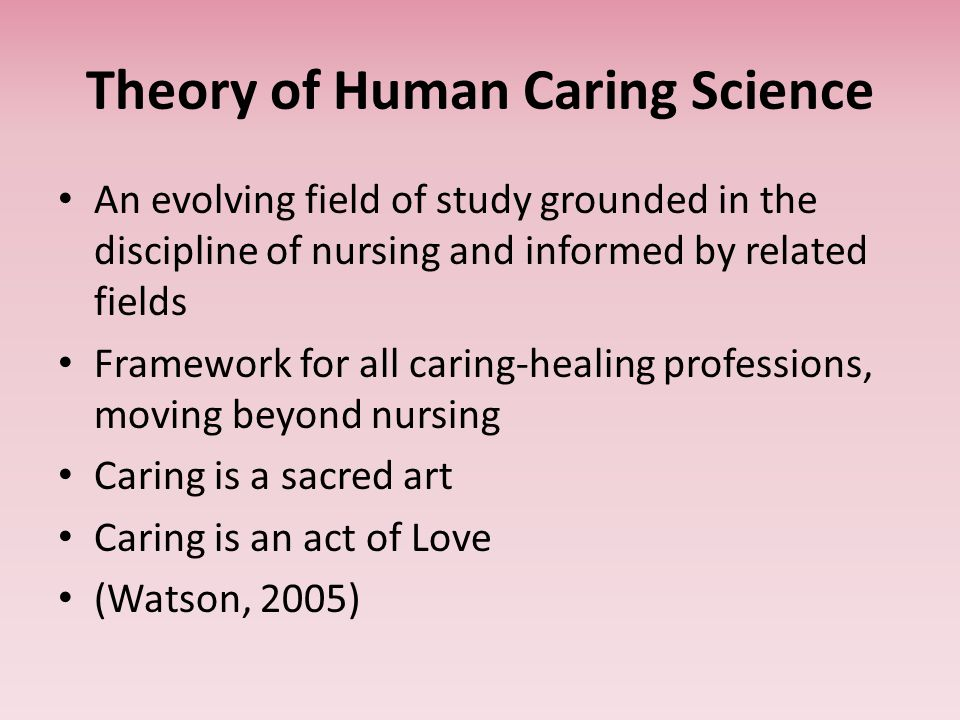 case study of jean watson caring theory  jean watson theory of caring moment nicole sherrod theories and models of nursing practice professor marylouise martin april 20, 2015 jean watson theory of caring moment the caring moment is a critical decision in another person life, as well as your life it is an act of humanity.