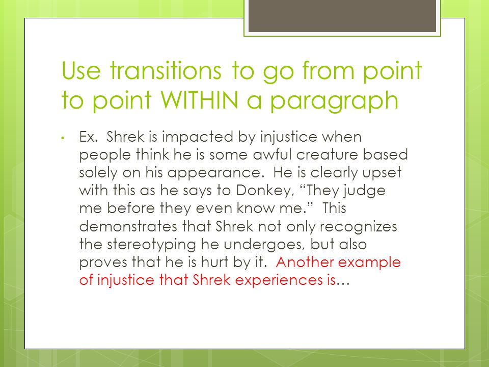 shrek stereotypes essay More essay examples on stereotypes rubric the younger audience wouldn't get this joke but the adults would, but both of them will enjoy the film since it also has jokes that appeal to both.