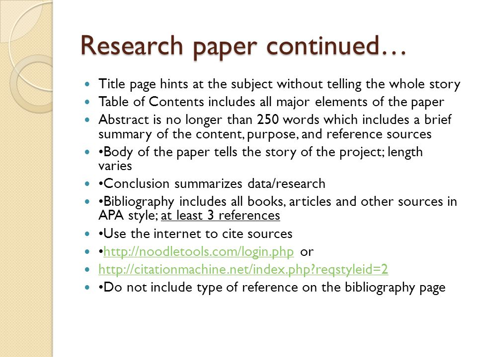 steps to structuring a science paper editors will take seriously