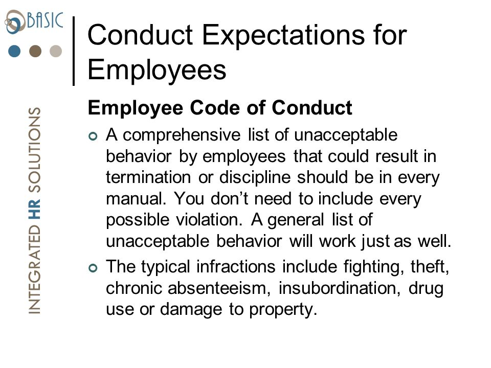 Employee Handbooks: Issues That Need To Be Addressed and ...