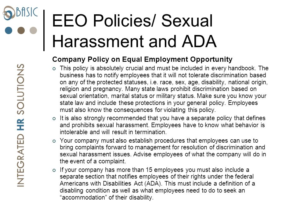 Sexual harassment 101: what everyone needs to know