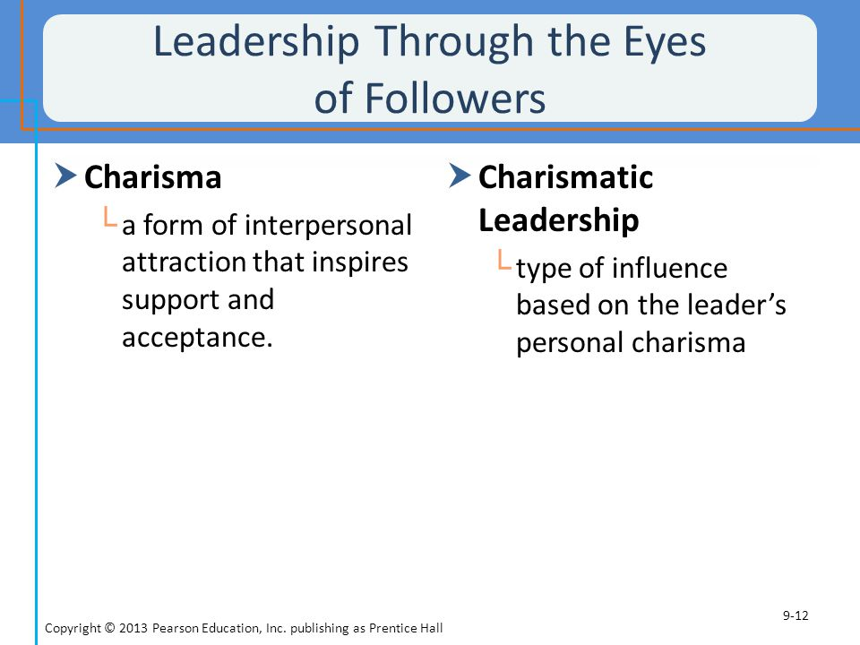 Leadership Through the Eyes of Followers