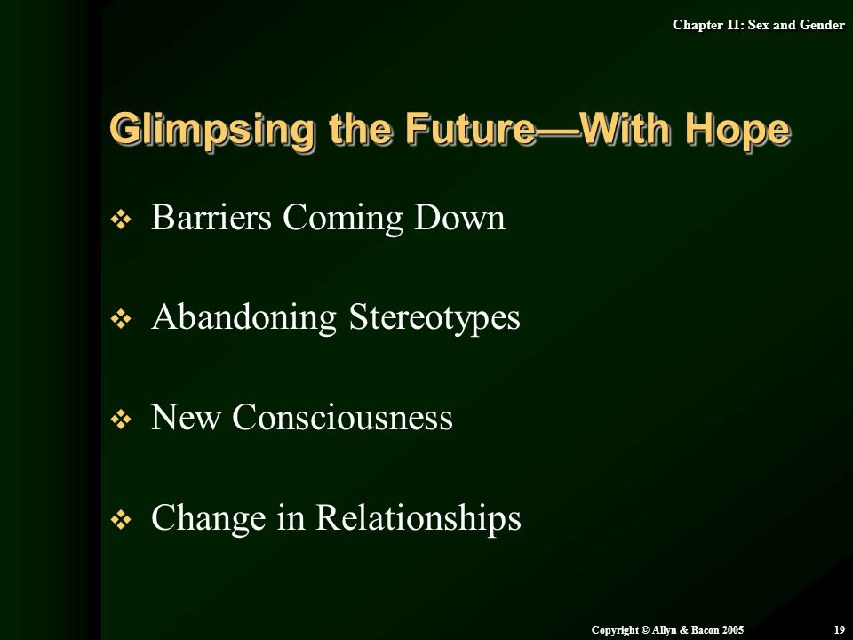Glimpsing the Future—With Hope
