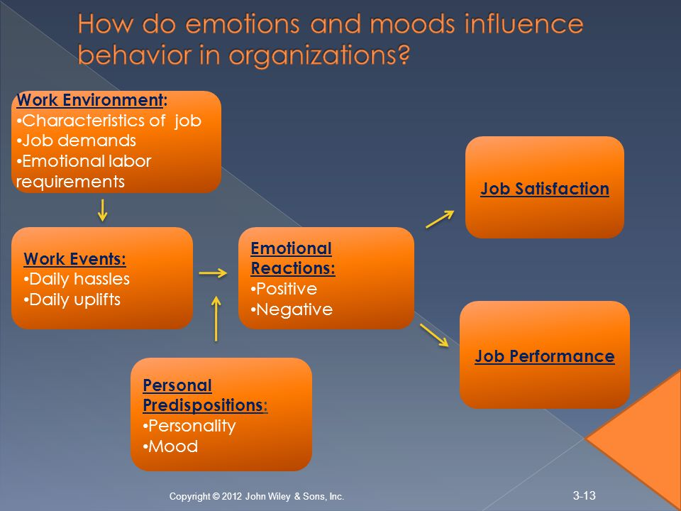 chapter 3 emotions attitudes and job satisfaction Organizational behavior 9th edition  chapter 3 values, attitudes, and job satisfaction chapter 4 personality and emotions chapter 5.