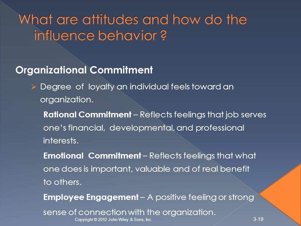 What are attitudes and how do the influence behavior
