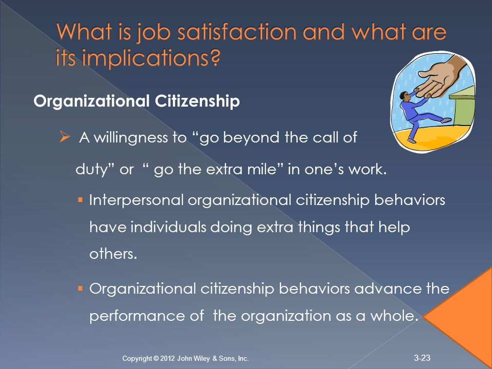 What is job satisfaction and what are its implications
