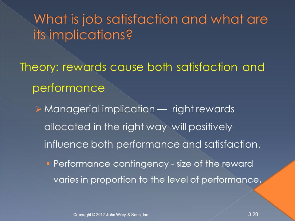 Employee Attitudes Job Satisfaction - PowerPoint PPT Presentation