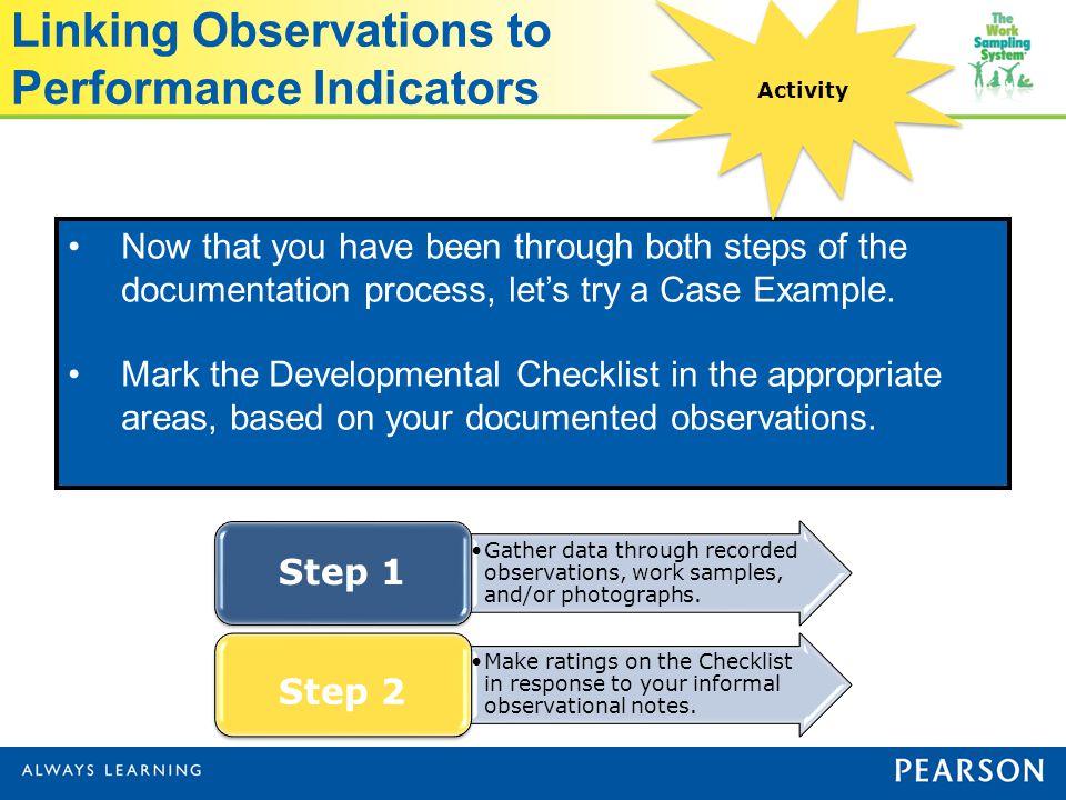 Kindergarten Readiness Indicators Observation And 6674591
