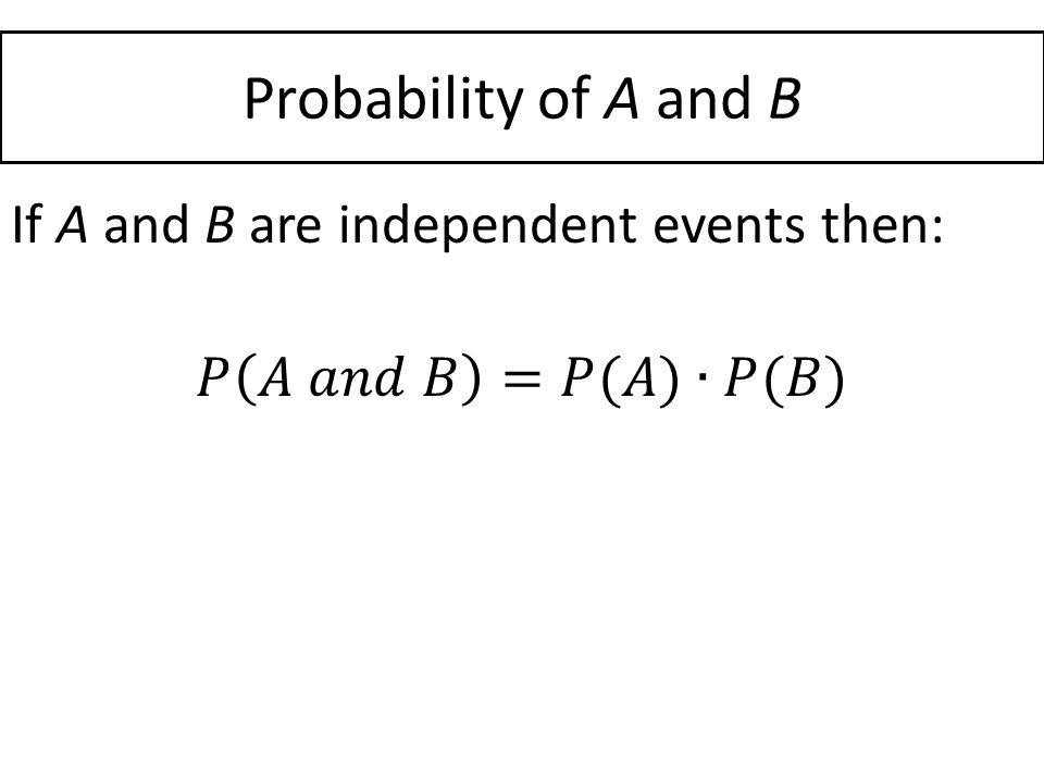 134 Compound Probability ppt download – Compound Probability Worksheet