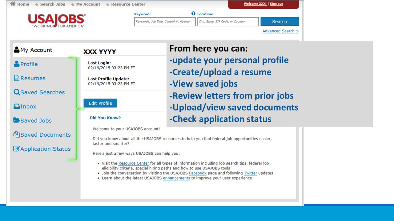 The Federal Hiring Process Using Usajobs Application Manager