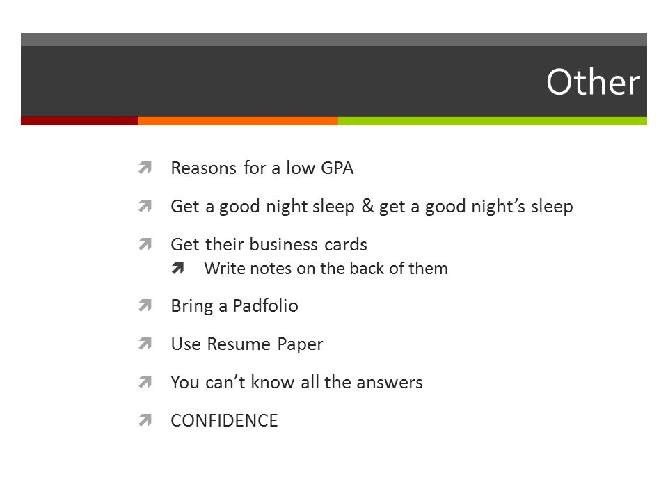 how to get a job with low gpa
