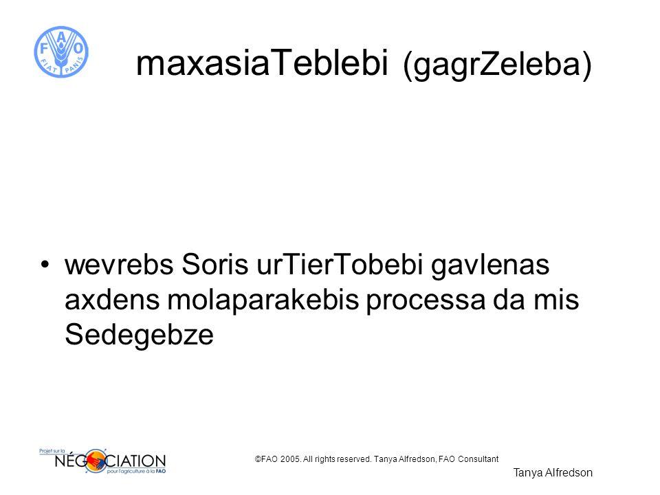 maxasiaTeblebi (gagrZeleba)